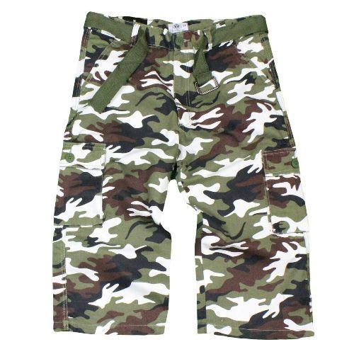 Men's 3/4 Length Cargo Shorts