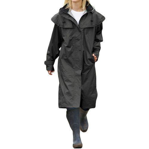SALE - Ladies Isla Full Length Waterproof Riding Cape Rain Coat