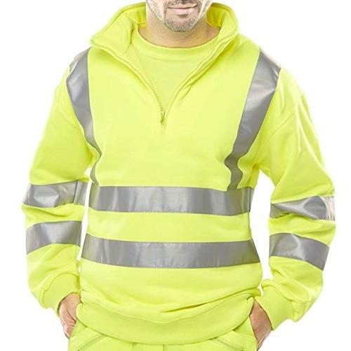 Mens HV102 Workwear 1/4 Zip Top