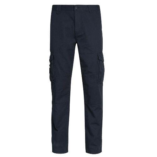 Mens Multi-Pocket Cargo Trousers - Cotton Work Pants