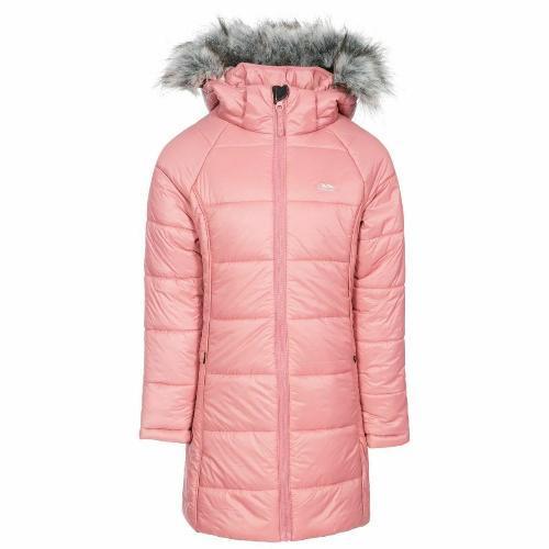 Trespass Girls Elimore Padded Hooded Casual Coat