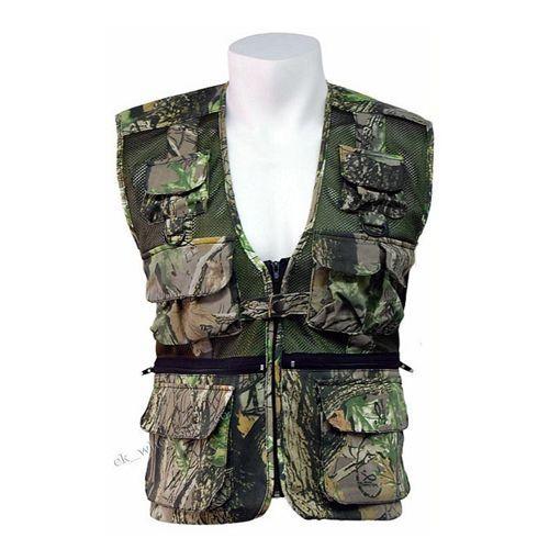 Stormkloth Camouflage Multi Pocket Vest